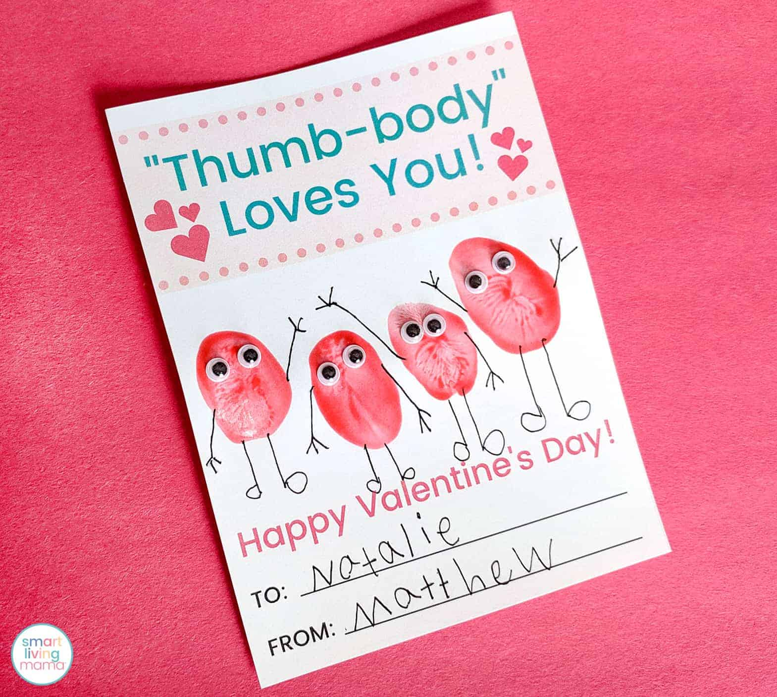 Smart Living Mama - Finished Valentine's Day Cards