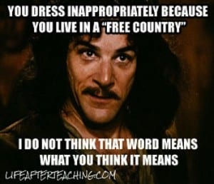 Students are dressing more and more inappropriately every year -- and then schools get in trouble for enforcing the dress code??