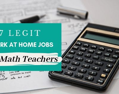 7 Legit Work-at-Home Jobs for Math Teachers
