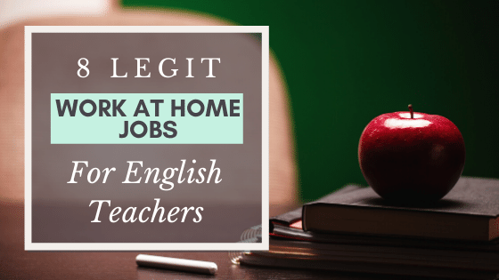 Work at home jobs for English Teachers