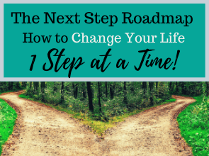 The Next Step Roadmap. How to Change Your Life 1 Step At a Time.
