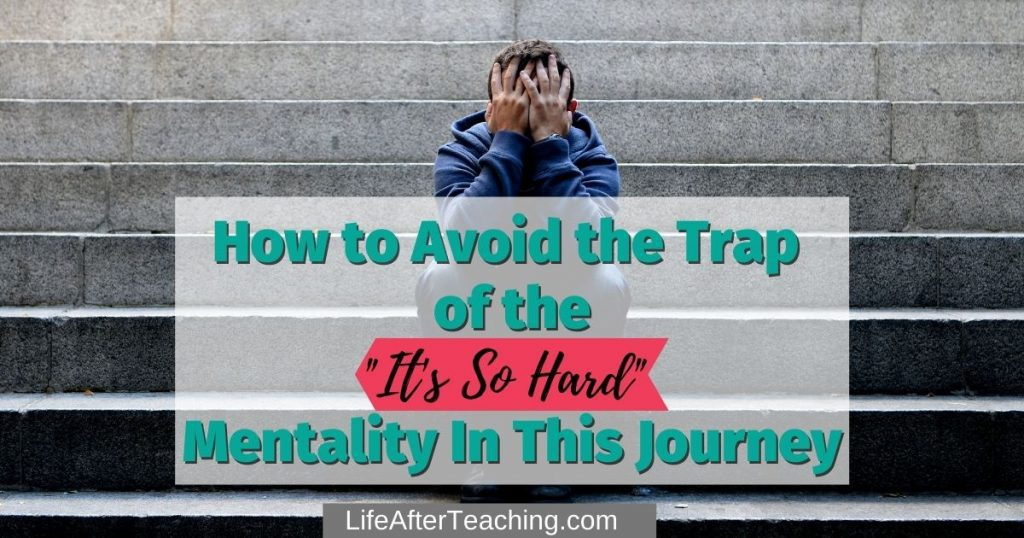 Title picture--It's so hard mentality