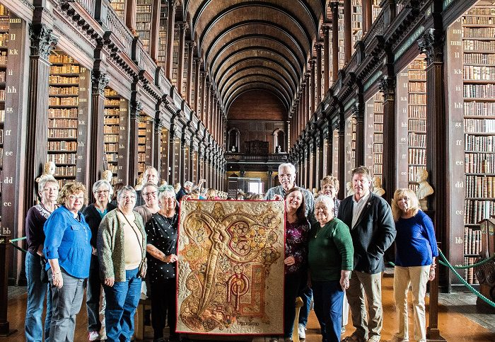 Mark Sherman Book of Kells quilt