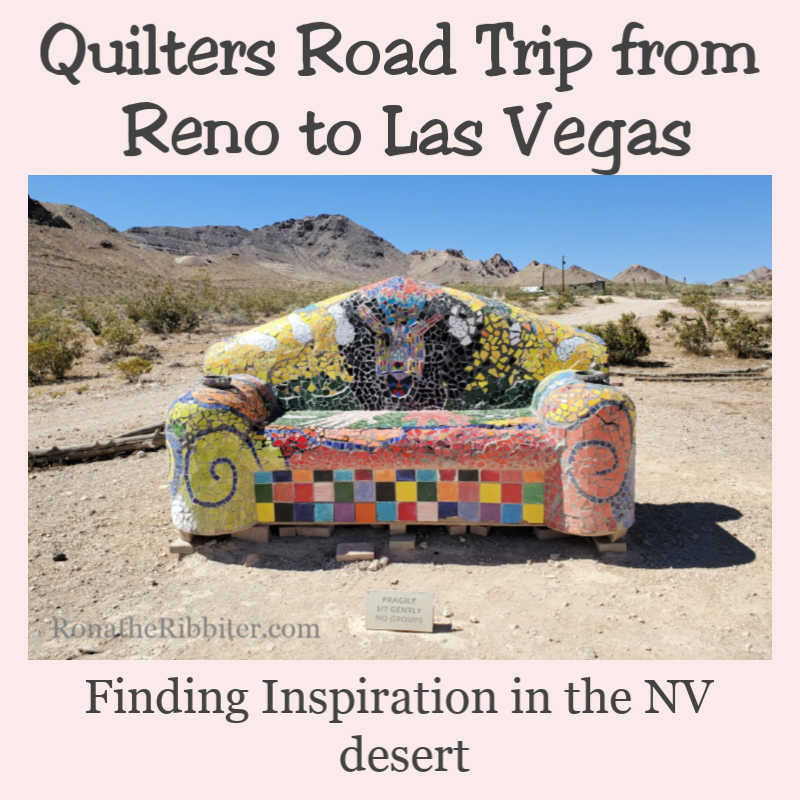 Quilters Road trip in Nevada