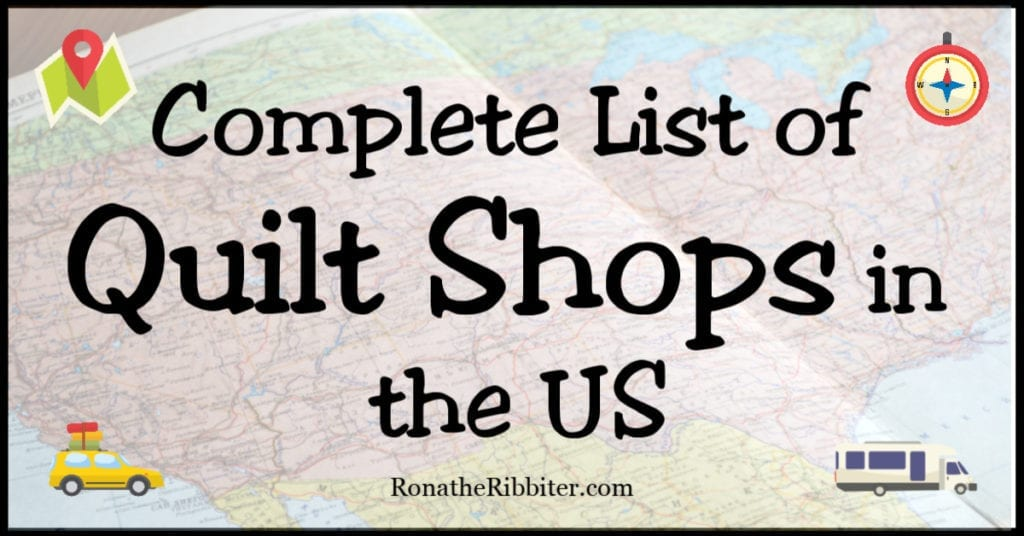 quilt shops in united states