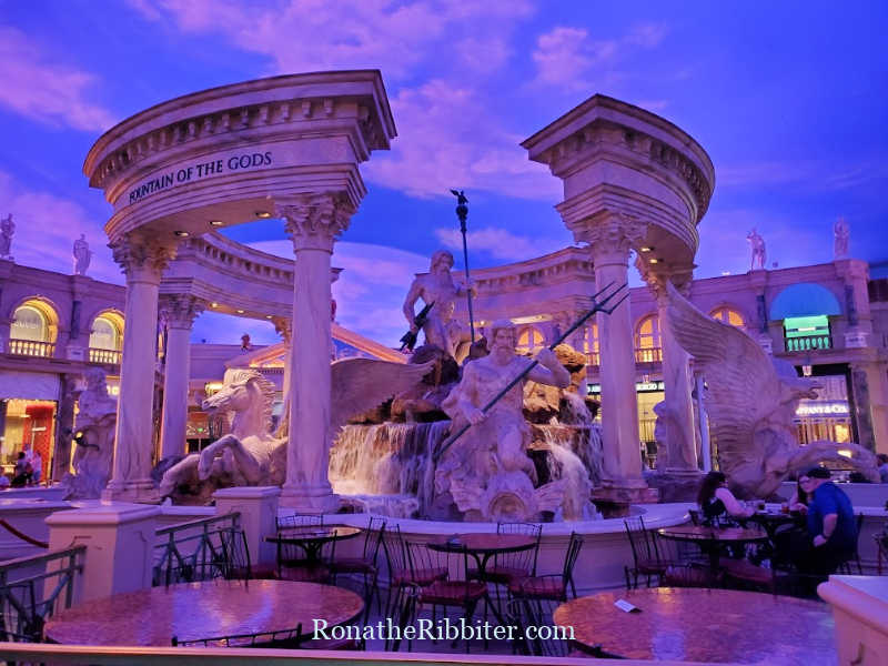 Quilting in Las Vegas, Fountain of the Gods, Caesars Palace