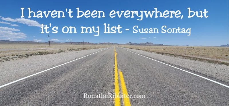 Safety travel tips - Travel quote Susan Sontag