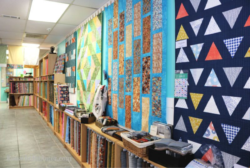 the Quilt Shop, Inc fabric wall