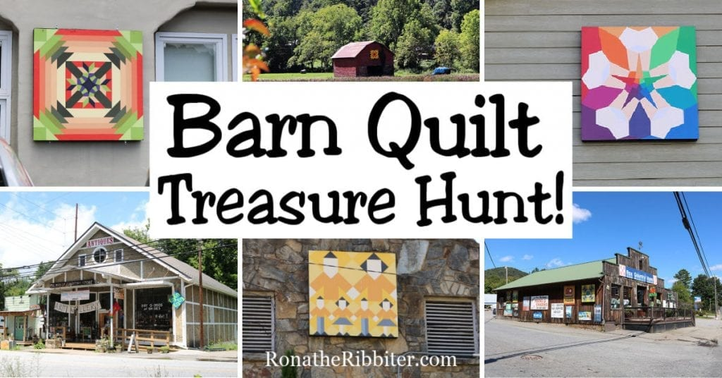 Quilts on barns Barn Quilt Scavenger Hunt