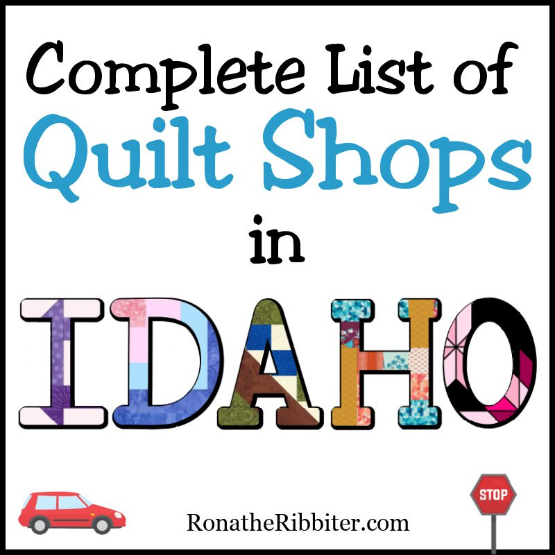 Quilt shops in ID