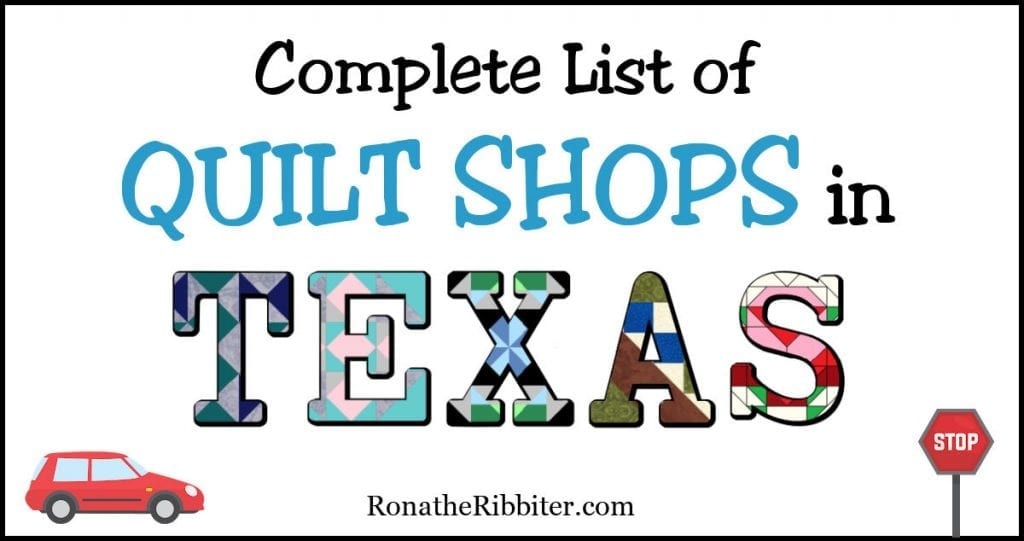 quilt shops in texas