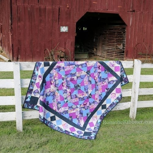 Twisted Quilt Pattern