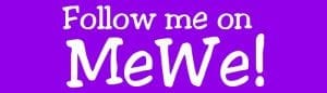 Follow me on MeWe