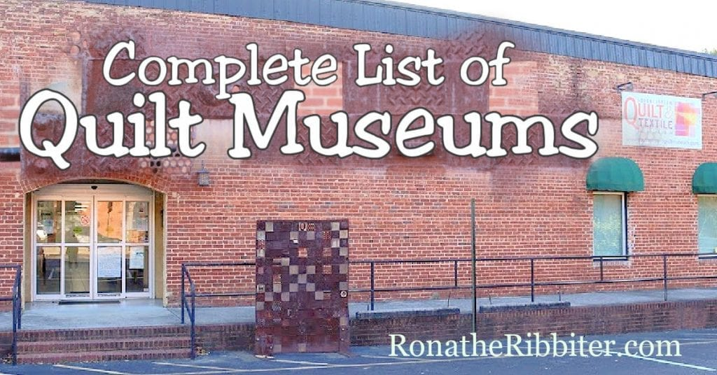 quilt museums list
