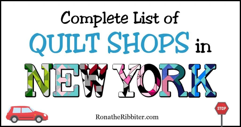 quilt shops in New York