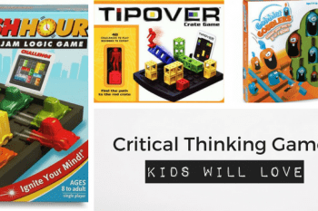 Critical thinking games will withstand the test of time, when you choose the right ones.