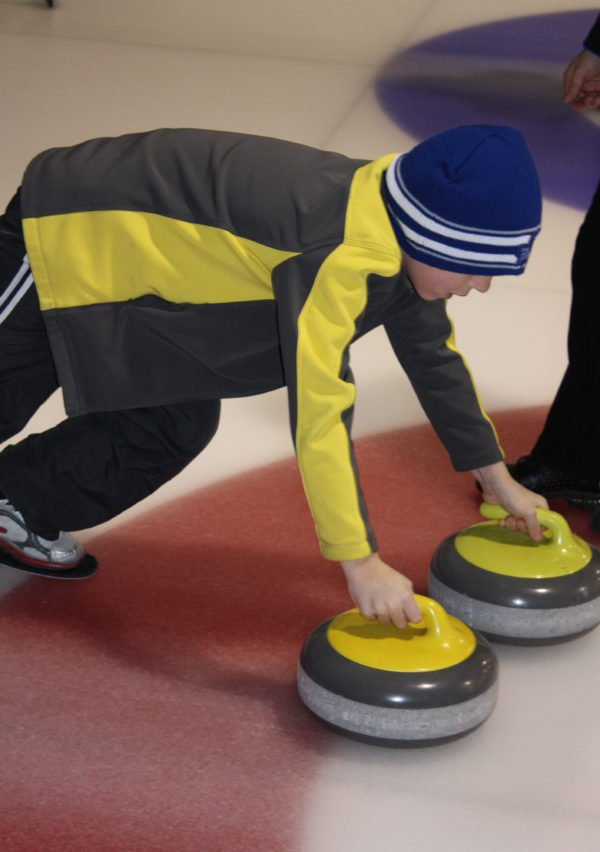 March break curling fun
