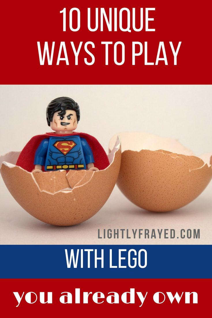 Unique ways to play with Lego you already own.