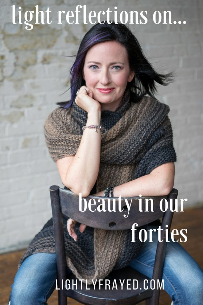 Reflecting on beauty in our forties