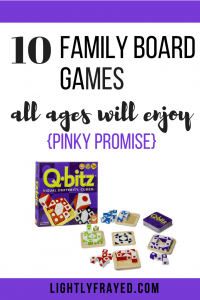 Finally - a list of board games the whole family will enjoy. Pinky promise!