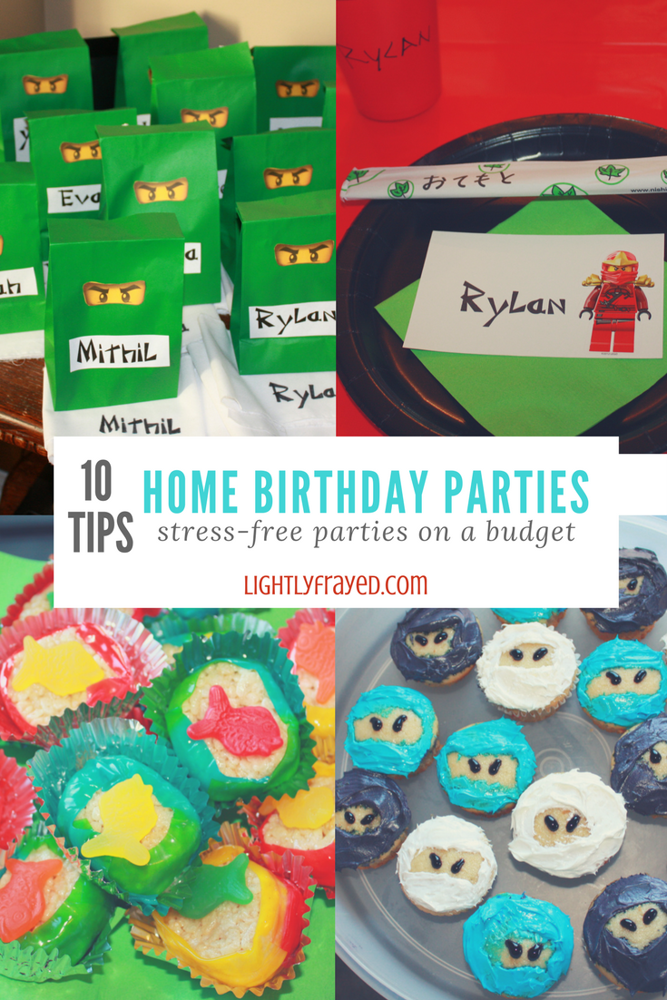 home birthday parties