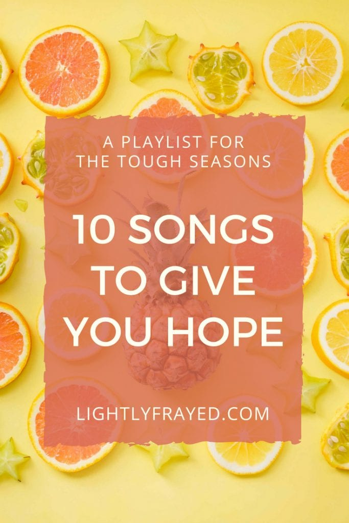 Hope for hurting moms. A playlist for the tough seasons.