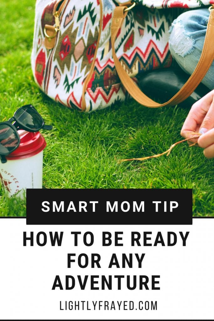 Want to be a fun mom? Pack these 6 things so you're ready for any spontaneous adventure