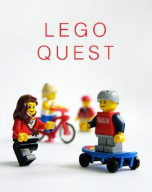 Lego quest for kids to try a new challenge each week.