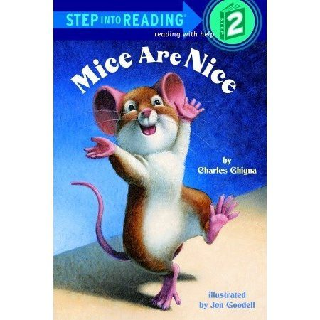 warped sense of humour giving book called Mice are Nice