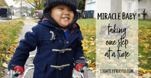 Ezra's parents fought to give their son with spina bifida and hydrocephalus his best chance in life. One step at a time.