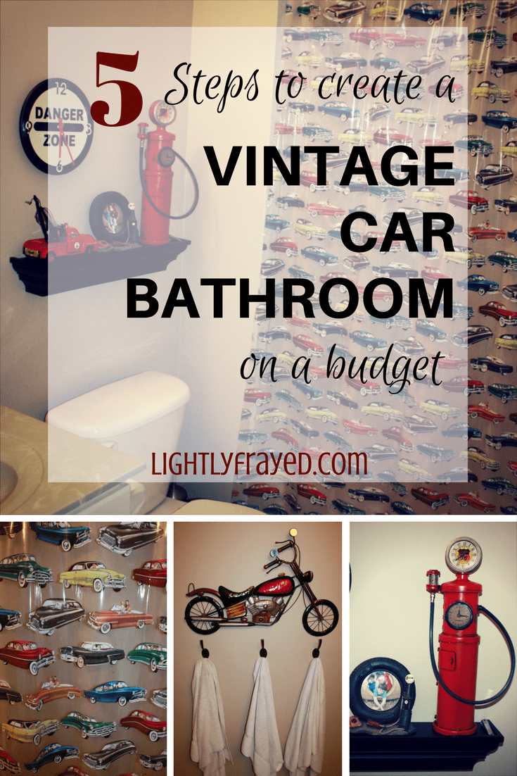 Create a Vintage Car Bathroom Theme in 5 Easy Steps