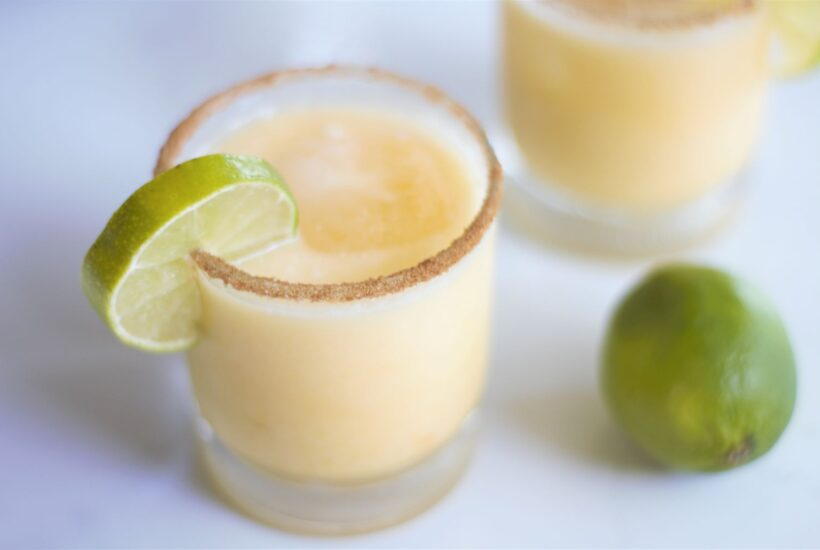 Passion Fruit Coconut Margarita