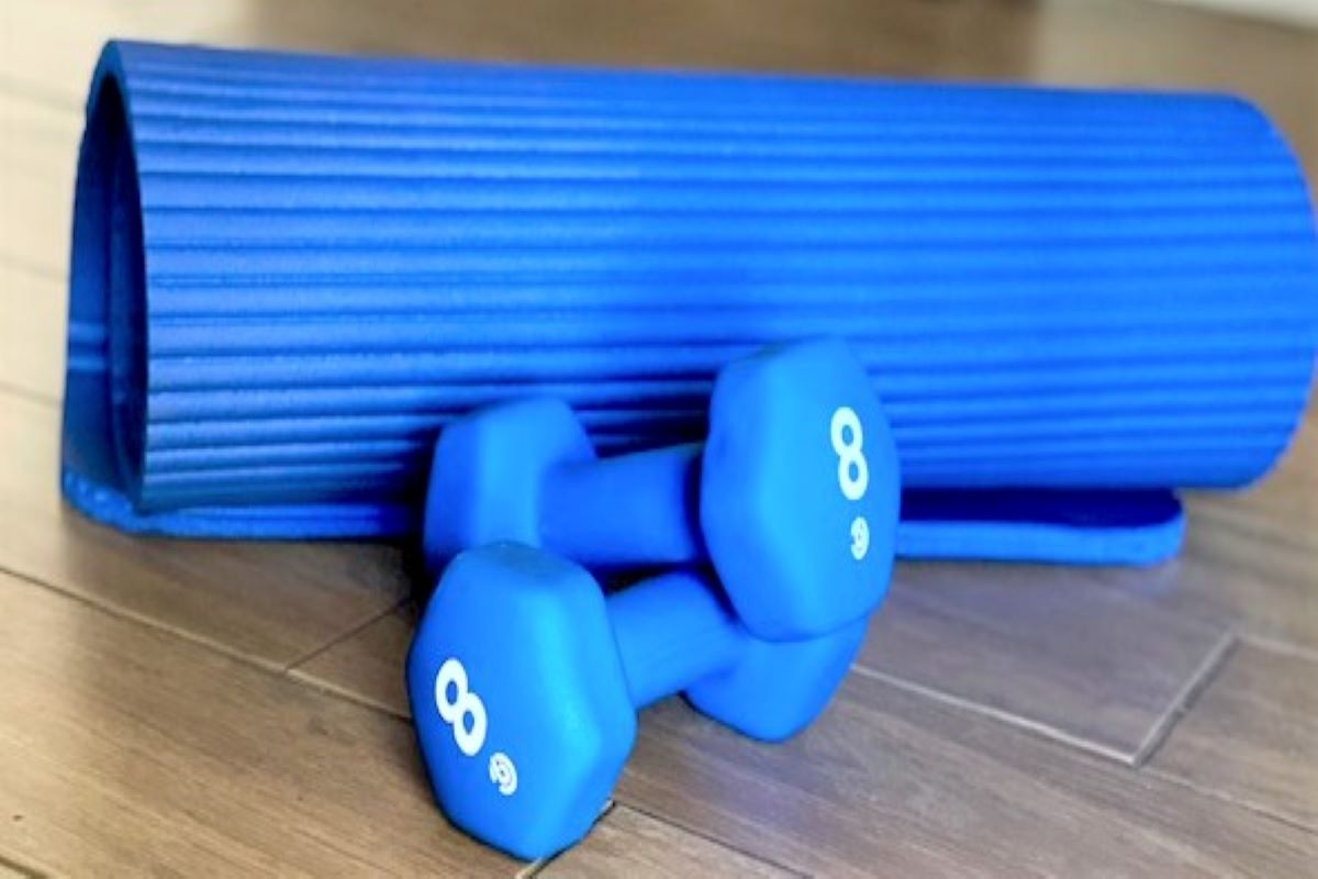 minimal equipment needed for an alternative workout to the gym