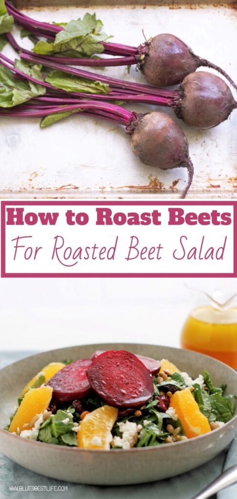 Graphic picture for roasted beet salad