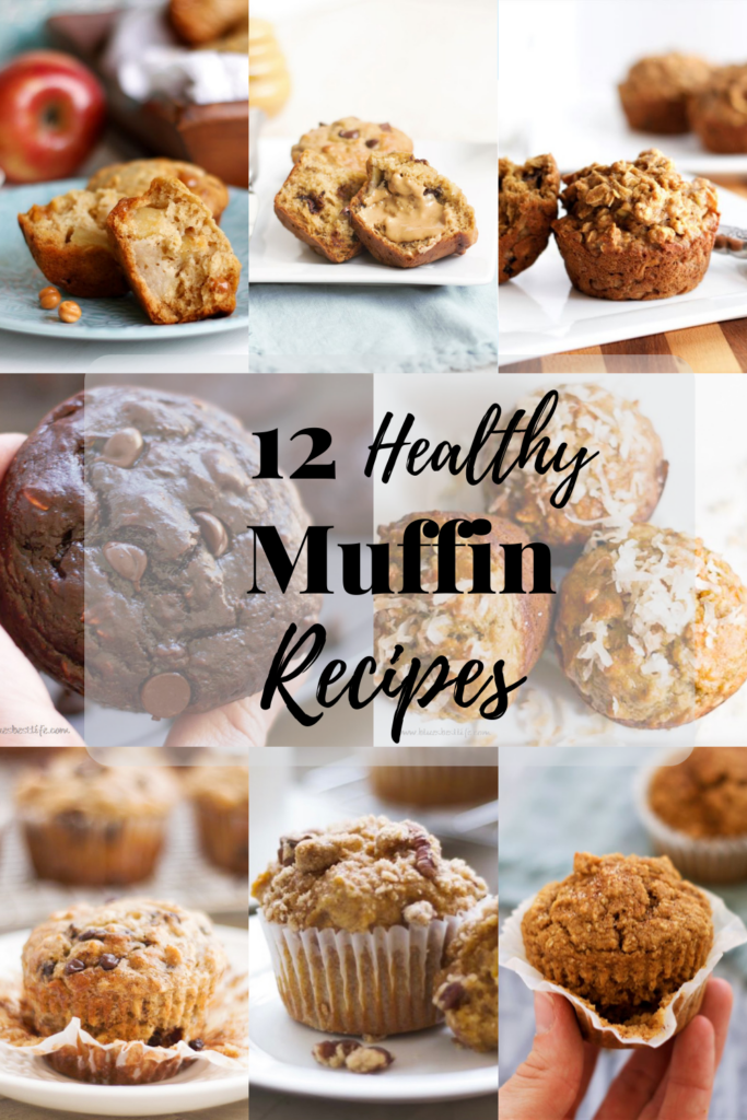 a compilation of several different muffin recipes